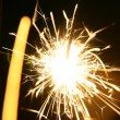 Holiday sparkler — Stock Photo #14125320