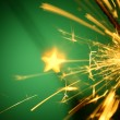 Christmas sparkler — Stock Photo #14125382