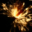 Stock Photo: Sparkler fire