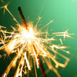 Christmas sparkler — Stock Photo #14125590