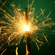 Christmas sparkler — Stock Photo #14125627