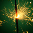 Christmas sparkler — Stock Photo #14125636