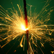 Christmas sparkler — Stock Photo #14125641