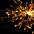 Yellow sparkler — Stock Photo #14958557
