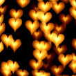 Bokeh hearts — Stock Photo #16918107