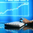 Finance data — Stock Photo