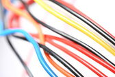 Wire background — Stock Photo