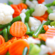 Mixed vegetables - Stockfoto
