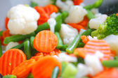 Mixed vegetables — 图库照片