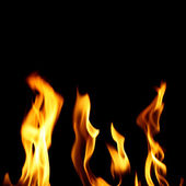 огонь ада — Стоковое фото