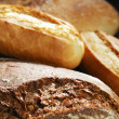 Various bread background — Stock Photo