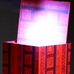 Holiday magic box — Stock Photo #23694983