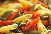 Colored pasta background — Stock Photo