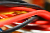 Colored wire — Stock Photo