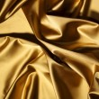 Gold textile - Stock Photo