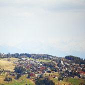 Chalet i bergen — Stockfoto