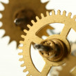 Mechanical clock gear — Stock Photo #28251969