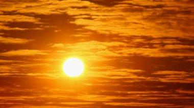 Sunset Background — Stock Video