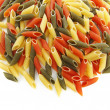 Stock Photo: colored pasta