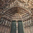 Stock Photo: Gates of Strasbourg Cathedral