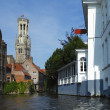 Belfort tower in Bruges — Stock Photo