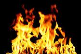 Fuoco di inferno — Foto Stock