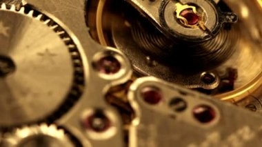 Clock gear — Stock Video