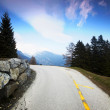 Mountain road — Foto Stock