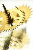 Cogwheels makro — Stok fotoğraf