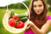 带蔬菜 — 图库照片
