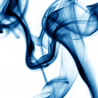 Stock Photo: Blue smoke
