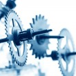 Mechanical clock gear — Stock Photo #30697691