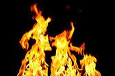 Fogo do inferno — Foto Stock