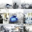 Silver christmas — Stock Photo