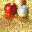 Christmas balls — Stock Photo #32389313