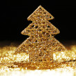 Christmas fir tree decoration — Stock Photo
