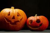 Zucche di halloween — Foto Stock