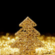 Christmas fir tree decoration — ストック写真