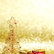Christmas tree and gifts — Stock Photo #33276969