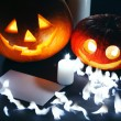 Halloween decoratie — Stockfoto