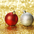 Christmas balls — Stock Photo #33786483