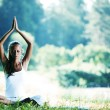 Lotus yoga — Stock Photo #34294353