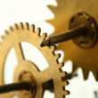 Mechanical clock gear — Stock Photo #34295369