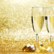 Foto de Stock  : Champagne glasses