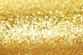 Golden glitter background — Stock Photo