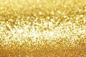 Golden glitter background — Stock Photo