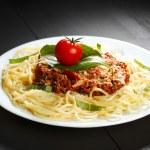 Spaghetti bolognese — Stock Photo #34736031