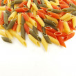 Colored pasta — Stock Photo