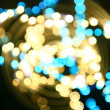 Stock Photo: Motion bokeh