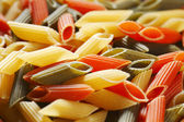 Colored pasta background — Stock Photo
